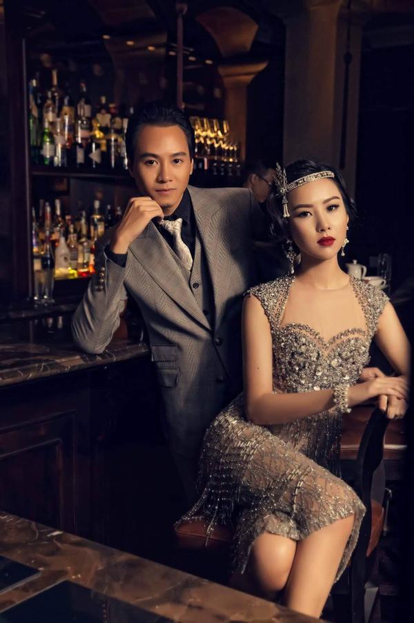 Ngắm bộ ảnh cưới cổ điển chất lừ của người đẹp Nha Trang - Phương Tiểu Bình bên chồng sắp c - ảnh 1