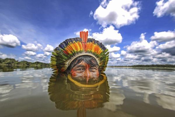Hé lộ cuộc sống bí ẩn của thổ dân trong rừng rậm Amazon - Ảnh 4.