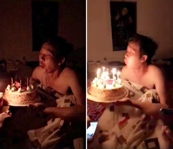 Hoài Linh giản dị thổi nến mừng sinh nhật bên con trai ruột