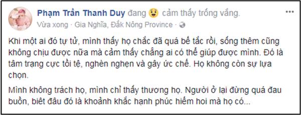 Thanh Duy nói về sự ra đi của Jonghyun: 'Khi một ai đó tự tử, họ chắc đã quá bế tắc rồi'