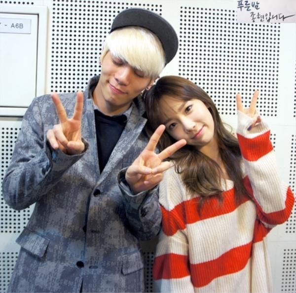 Taeyeon và Jonghyun là người bạn thân thiết từ thời thực tập sinh