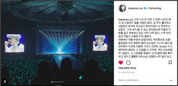 Taeyeon nghẹn ngào chia tay Jonghyun: 'Chị hối hận khi không thể ôm em được nhiều lần nữa'
