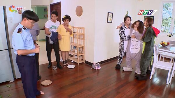 Toki (Uni5) tìm cách cưa đổ Han Sara trong 'Thần tượng tuổi 300' - ảnh 7