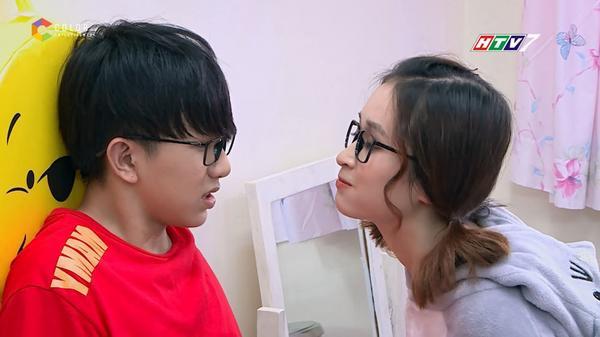 Toki (Uni5) tìm cách cưa đổ Han Sara trong 'Thần tượng tuổi 300' - ảnh 2