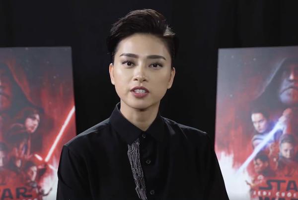 Xem clip Ngô Thanh Vân nói về 'Star Wars', hẳn khán giả sẽ trầm trồ vì 'đẹp trai'