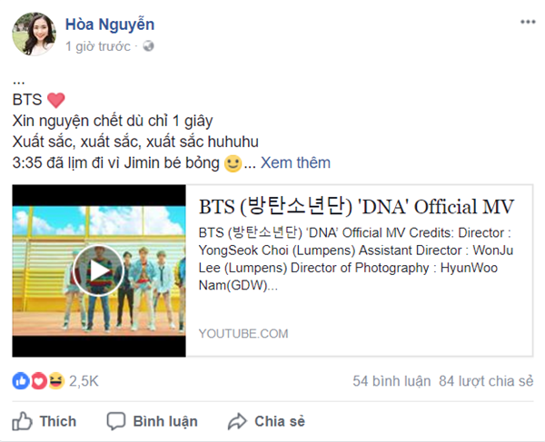 Khoe sắp được gặp lại thần tượng BTS, Hoà Minzy bị anti-fan 'ném đá' nặng nề
