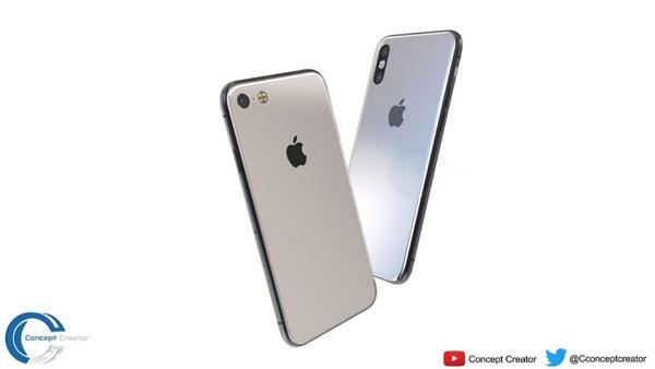 Cận cảnh ý tưởng iPhone 2018, có bản màu đỏ đẹp không thể chối cãi