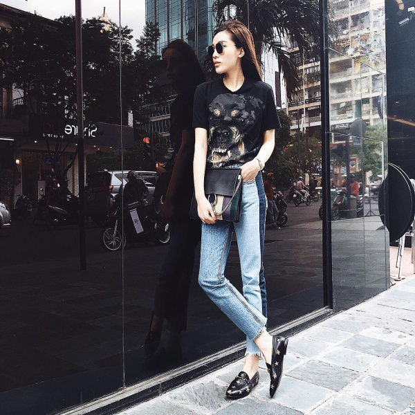 inst image 13 - Phạm Hương, Kỳ Duyên đã cất giày cao vời vợi vào tủ… để tậu mốt giày Selena Gomez mê mẩn