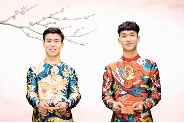 Clip: Bộ đôi 'soái ca' U23 Duy Mạnh - Trọng Đại bật mí mẫu người yêu lý tưởng nhân dịp Valentine - ảnh 2