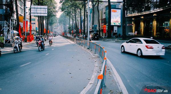 Đường phố như thênh thang hơn…