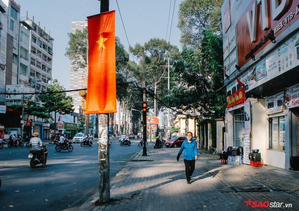 Lâu lắm rồi mới thấy, Sài Gòn bình yên đến thế.