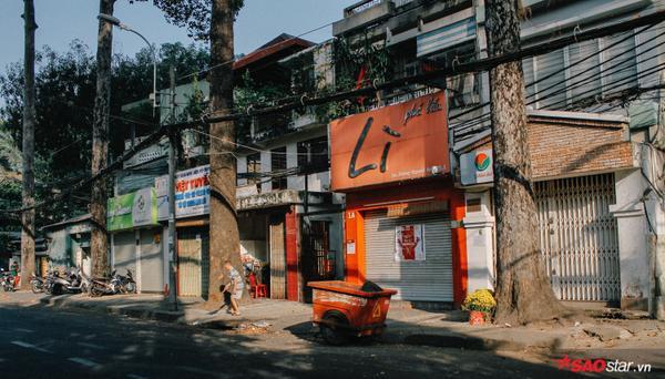 Cửa hàng trên đường Sương Nguyệt Ánh (Q.1, TP. HCM) cũng đóng cửa im lìm vào ngày cuối năm.