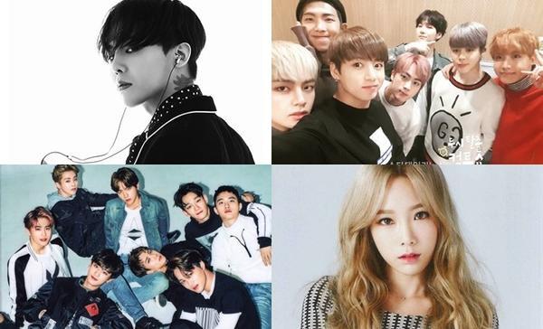 Trao giải cả Kpop, 'Gaon Chart Music Awards 2017' vẫn không hết nhạt vì thiếu BTS - EXO 5