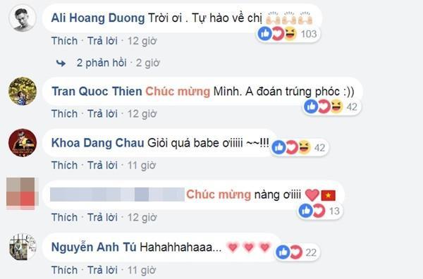 Hàng loạt sao Việt 'phát cuồng', chúc mừng Hương Giang Idol 'càn quét' thành công đêm thi bán kết