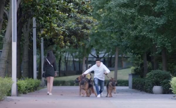 Thời Việt thả chó để trêu chọc người đẹp nhưng kết cục lại bị Nam Kiều đá gãy chân cún yêu.