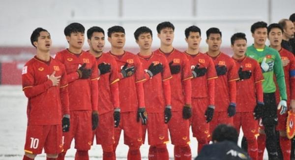 Các cầu thủ U23 Việt Nam