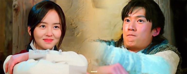 """Fan """"bấn cuồng"""" trước cảnh hôn đầu của Kim So Hyun và Na In Woo trong Sông Đón Trăng Lên Ảnh 1"""