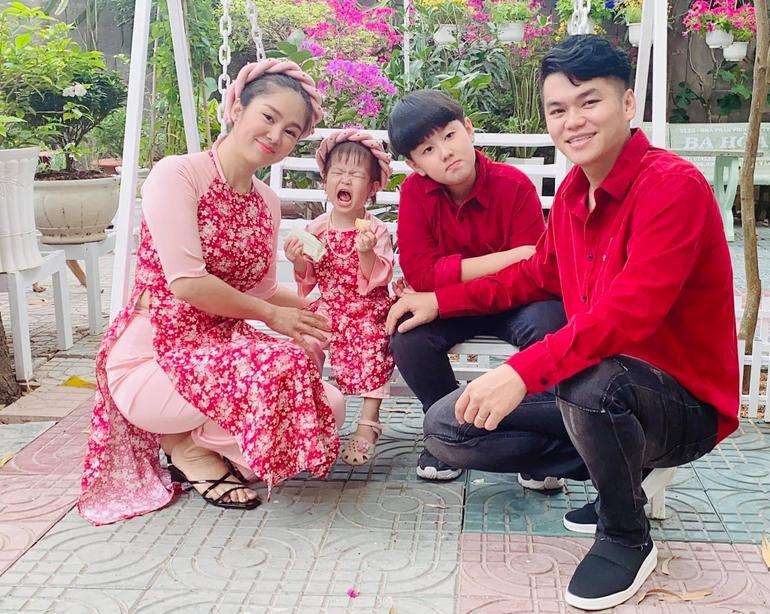Lê Phương 'mượn' con gái để bày tỏ nỗi nhớ chồng Ảnh 7